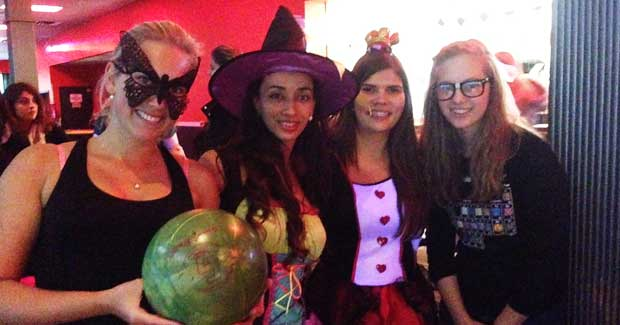 Au Pairs at Halloween
