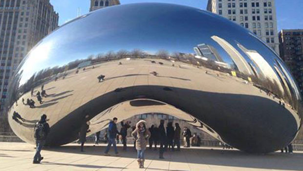Visiting Chicago's Bean