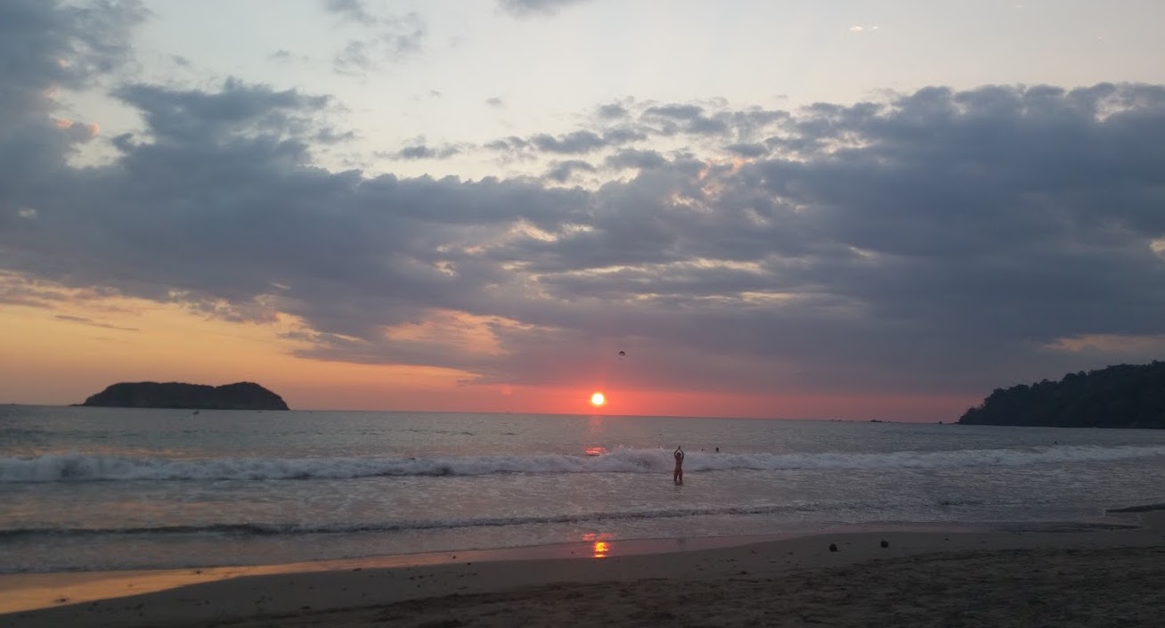 I enjoyed the Manuel Antonio sunset!