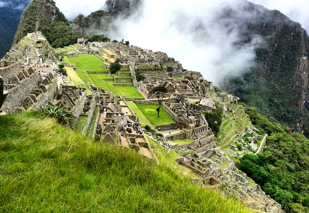 Majestic Machu Picchu, as seen by Danielle
