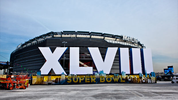 MetLife Stadium prepares for Super Bowl XLVIII