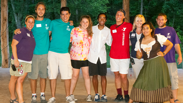 hire diverse camp staff