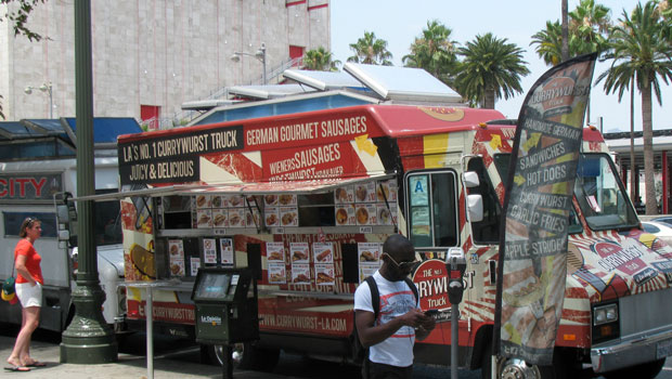 Food trucks in Los Angeles