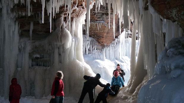 Apostle Island Sea Cave