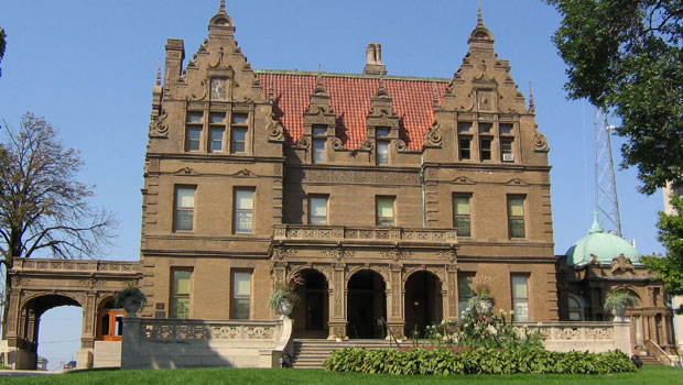 The Pabst Mansion in Milwaukee
