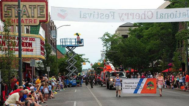 Cherry Festival in Traverse City