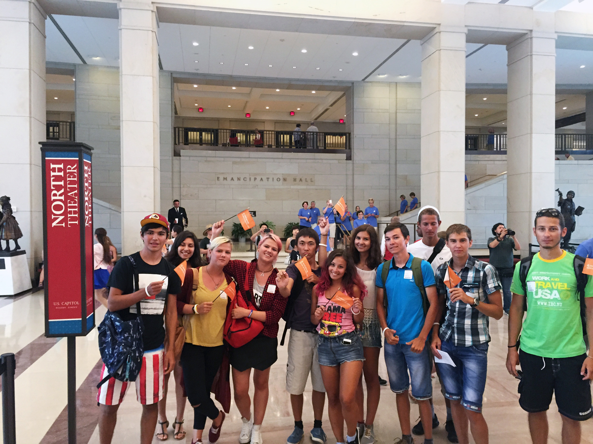 A Visit to the U.S. Capitol and National Night Out