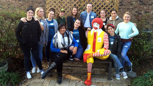 Au Pairs with Ronald McDonald