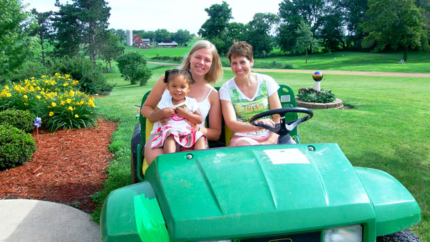Kim from Germany is an au pair in Pennsylvania, USA.