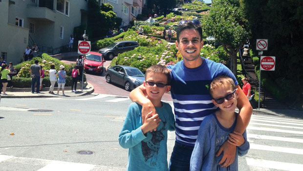 Luis S. from Brazil is an au pair in California, USA.