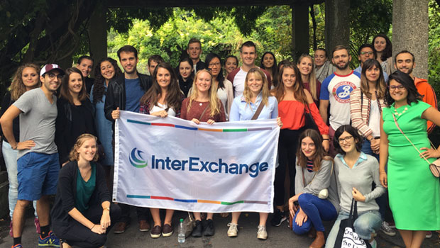 InterExchange staff and participants enjoy the Brooklyn Botanic Gardens.