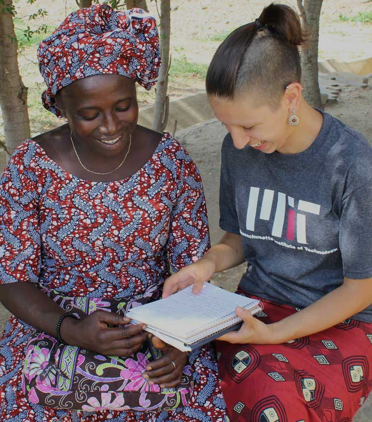 Grantee Alicia in Togo