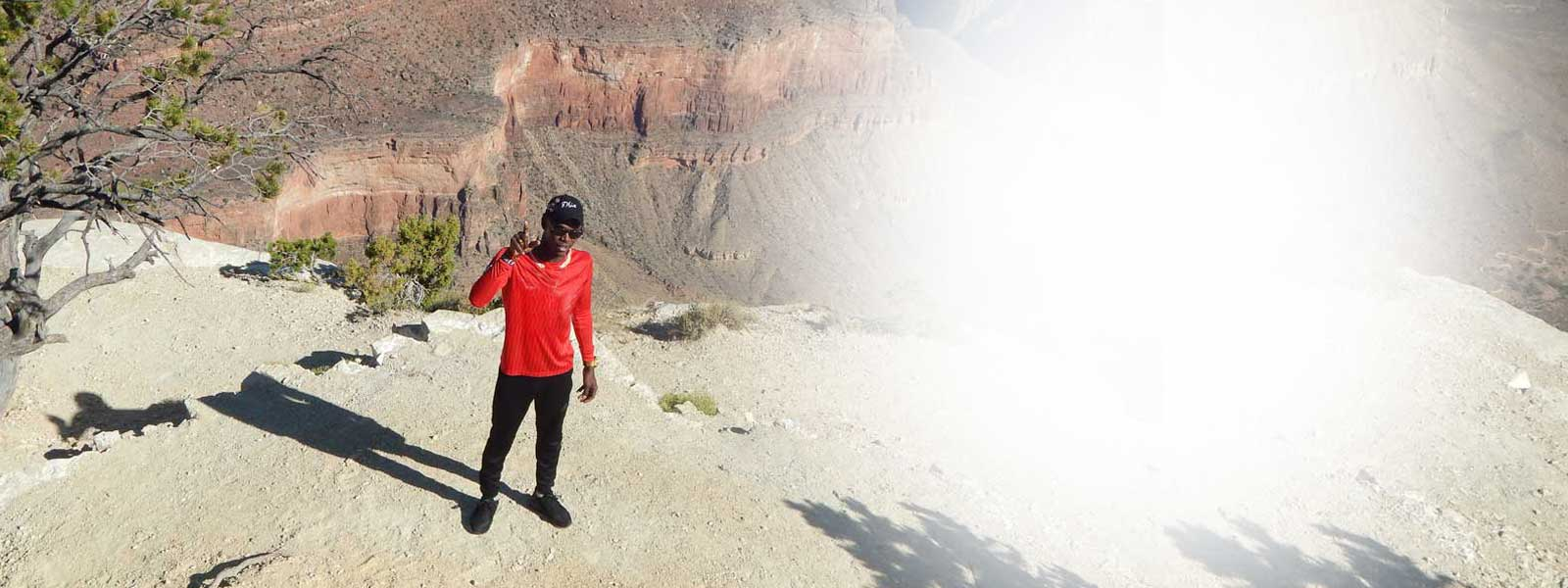 Participant at Grand Canyon