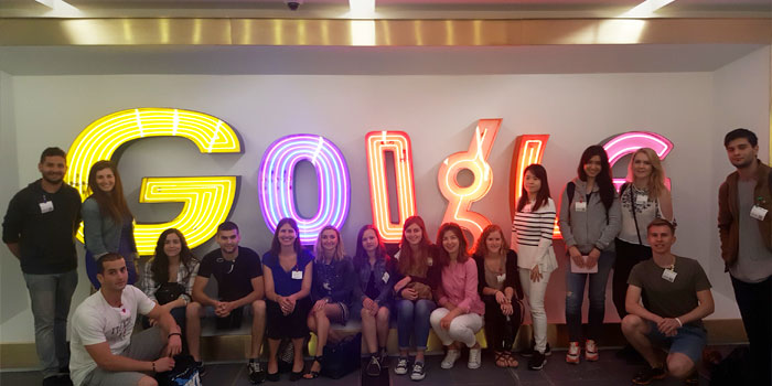 Google NYC office tour, June 2016