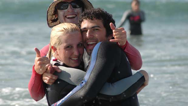Surfing Participants