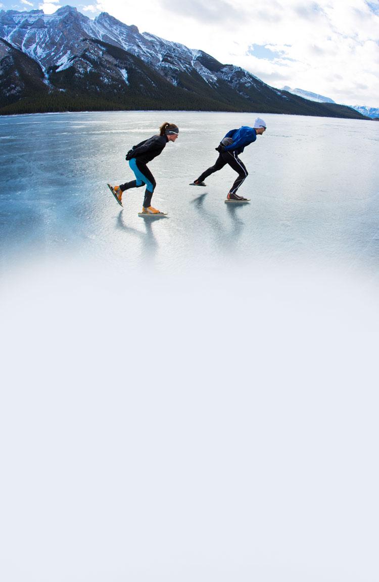 Work & Travel Participants Skating